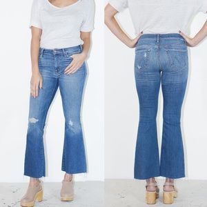MOTHER The Weekender Ankle Fray Jeans in Wild